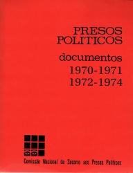 presoso politicos, documentos 1970 a 1974